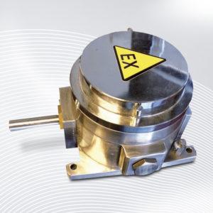 B-COMMAND Getriebeendschalter FRX ATEX IECEX Mining Edelstahl Nockenschalter Nockenschaltwerk Getriebegrenzschalter