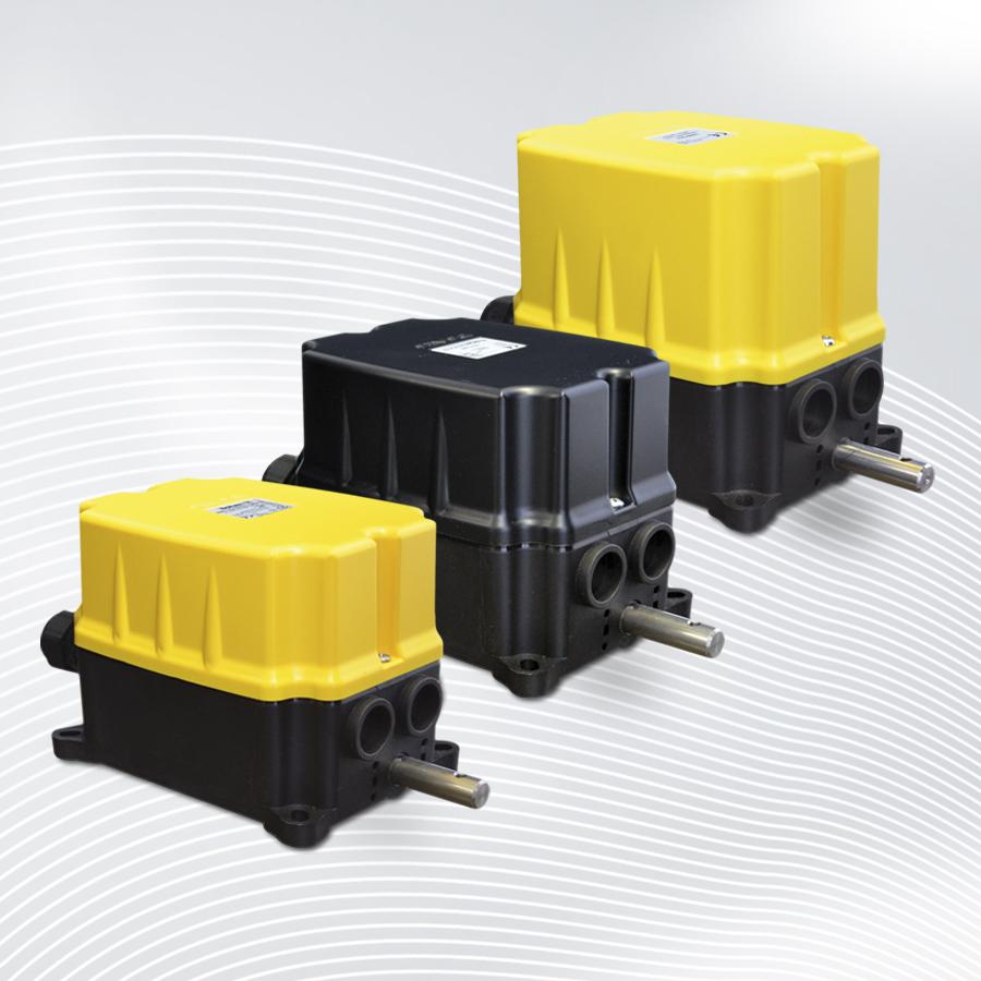 B-COMMAND Nockenendschalter FRM Getriebeendschalter mit Encoder Nockenschaltwerk
