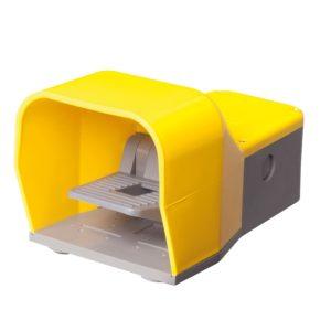 Fussschalter-Metallgehaeuse-Pedalschalter-Fusstaster-Trittschalter-B-COMMAND