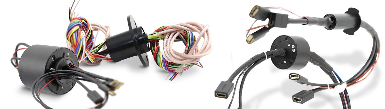 HDMI Schleifring, HD-SDI, 1080p, UHD Drehdurchführung, Video-Schlefring