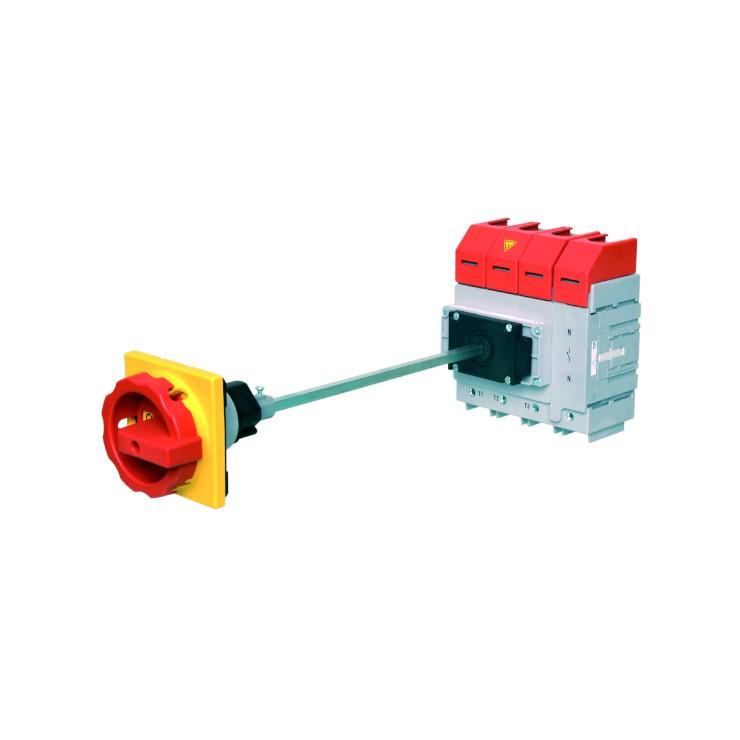Hauptschalter-Lasttrennschalter-Nockenschalter-Reparaturschalter-Bodenbefestigung-Achsverlaengerung-B-COMMAND